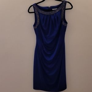 Blue medium Eliza J dress